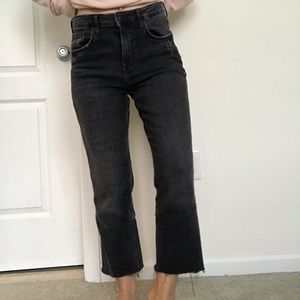 H&M straight ankle high waist jeans. Size 29